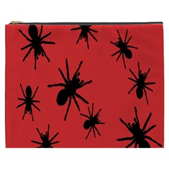 Illustration With Spiders Cosmetic Bag (xxxl)  by Nexatart