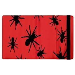 Illustration With Spiders Apple Ipad 3/4 Flip Case by Nexatart