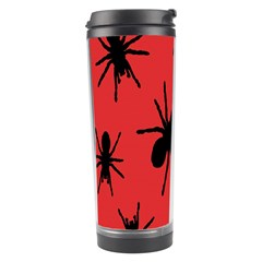 Illustration With Spiders Travel Tumbler by Nexatart