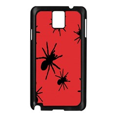 Illustration With Spiders Samsung Galaxy Note 3 N9005 Case (black)