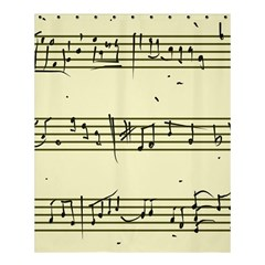 Music Notes On A Color Background Shower Curtain 60  X 72  (medium)  by Nexatart