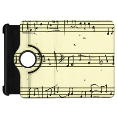 Music Notes On A Color Background Kindle Fire Hd 7  by Nexatart