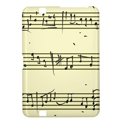 Music Notes On A Color Background Kindle Fire Hd 8 9  by Nexatart