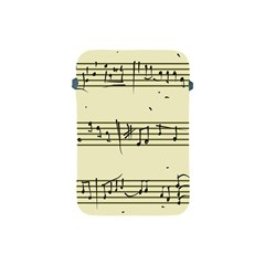Music Notes On A Color Background Apple Ipad Mini Protective Soft Cases by Nexatart