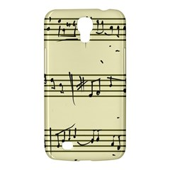 Music Notes On A Color Background Samsung Galaxy Mega 6 3  I9200 Hardshell Case by Nexatart