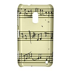 Music Notes On A Color Background Nokia Lumia 620 by Nexatart