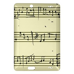 Music Notes On A Color Background Amazon Kindle Fire Hd (2013) Hardshell Case