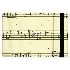 Music Notes On A Color Background Ipad Air Flip by Nexatart