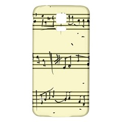 Music Notes On A Color Background Samsung Galaxy S5 Back Case (white) by Nexatart