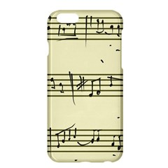 Music Notes On A Color Background Apple Iphone 6 Plus/6s Plus Hardshell Case by Nexatart