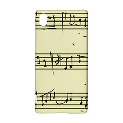 Music Notes On A Color Background Sony Xperia Z3+ by Nexatart