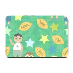 Football Kids Children Pattern Small Doormat  by Nexatart