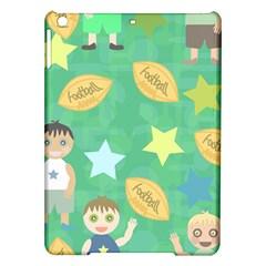 Football Kids Children Pattern Ipad Air Hardshell Cases by Nexatart