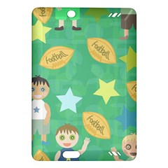 Football Kids Children Pattern Amazon Kindle Fire Hd (2013) Hardshell Case