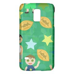 Football Kids Children Pattern Galaxy S5 Mini by Nexatart