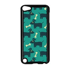 Happy Dogs Animals Pattern Apple Ipod Touch 5 Case (black)