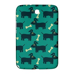 Happy Dogs Animals Pattern Samsung Galaxy Note 8 0 N5100 Hardshell Case  by Nexatart