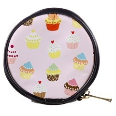 Seamless Cupcakes Wallpaper Pattern Background Mini Makeup Bags