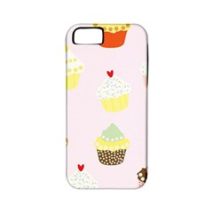 Seamless Cupcakes Wallpaper Pattern Background Apple Iphone 5 Classic Hardshell Case (pc+silicone)