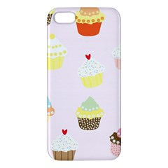 Seamless Cupcakes Wallpaper Pattern Background Apple Iphone 5 Premium Hardshell Case