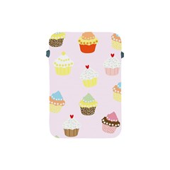 Seamless Cupcakes Wallpaper Pattern Background Apple Ipad Mini Protective Soft Cases by Nexatart