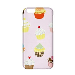 Seamless Cupcakes Wallpaper Pattern Background Apple Iphone 6/6s Hardshell Case by Nexatart