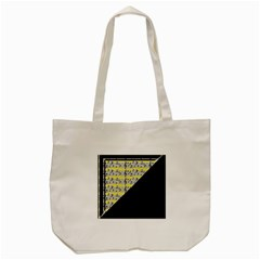 Note Abstract Paintwork Tote Bag (cream) by Nexatart