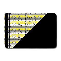 Note Abstract Paintwork Plate Mats by Nexatart