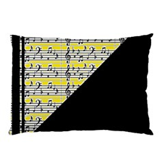 Note Abstract Paintwork Pillow Case (two Sides) by Nexatart