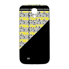 Note Abstract Paintwork Samsung Galaxy S4 I9500/i9505  Hardshell Back Case