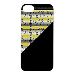 Note Abstract Paintwork Apple Iphone 5s/ Se Hardshell Case