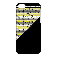 Note Abstract Paintwork Apple Iphone 5c Hardshell Case by Nexatart