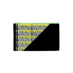 Note Abstract Paintwork Cosmetic Bag (xs) by Nexatart