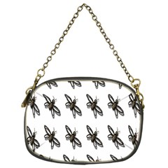 Insect Animals Pattern Chain Purses (one Side)  by Nexatart