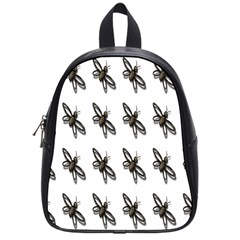 Insect Animals Pattern School Bags (small)  by Nexatart