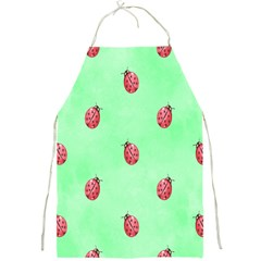 Pretty Background With A Ladybird Image Full Print Aprons by Nexatart