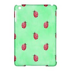 Pretty Background With A Ladybird Image Apple Ipad Mini Hardshell Case (compatible With Smart Cover) by Nexatart