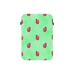 Pretty Background With A Ladybird Image Apple Ipad Mini Protective Soft Cases by Nexatart