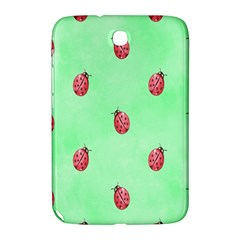 Pretty Background With A Ladybird Image Samsung Galaxy Note 8 0 N5100 Hardshell Case  by Nexatart
