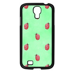 Pretty Background With A Ladybird Image Samsung Galaxy S4 I9500/ I9505 Case (black) by Nexatart