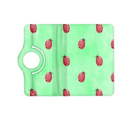Pretty Background With A Ladybird Image Kindle Fire Hd (2013) Flip 360 Case by Nexatart