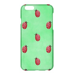 Pretty Background With A Ladybird Image Apple Iphone 6 Plus/6s Plus Hardshell Case