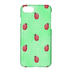 Pretty Background With A Ladybird Image Apple Iphone 7 Hardshell Case by Nexatart