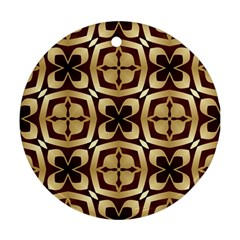 Abstract Seamless Background Pattern Ornament (round)