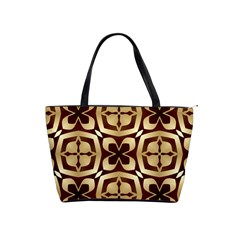 Abstract Seamless Background Pattern Shoulder Handbags