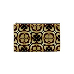 Abstract Seamless Background Pattern Cosmetic Bag (small)