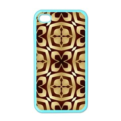 Abstract Seamless Background Pattern Apple Iphone 4 Case (color) by Nexatart
