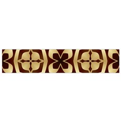Abstract Seamless Background Pattern Flano Scarf (small)