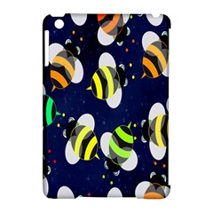 Bees Cartoon Bee Pattern Apple Ipad Mini Hardshell Case (compatible With Smart Cover) by Nexatart