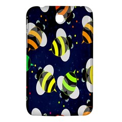 Bees Cartoon Bee Pattern Samsung Galaxy Tab 3 (7 ) P3200 Hardshell Case